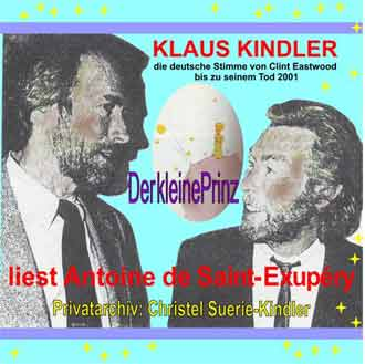 Klaus Kindler trifft Clint Eastwood in Muenchen 1981.